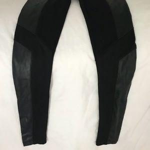 Jack by BB Dakota Leggings with leather